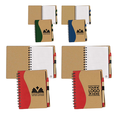 Recycled Notepad with Pen w/ CSW or YSL